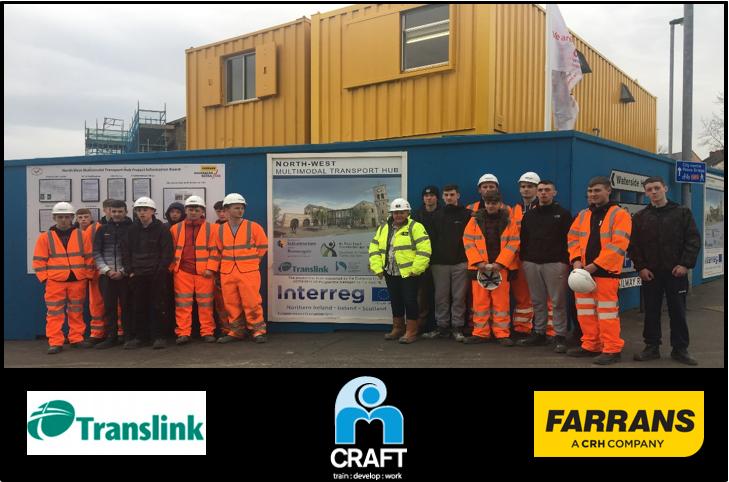craft training   Farrans Transport hub photo